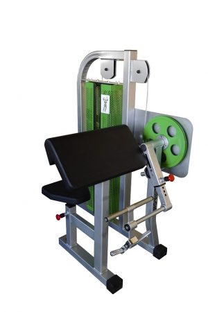 Bicepszgép, 45°-os támla