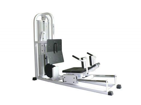 Leg press machine, horizontal