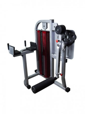 Radial gluteus machine