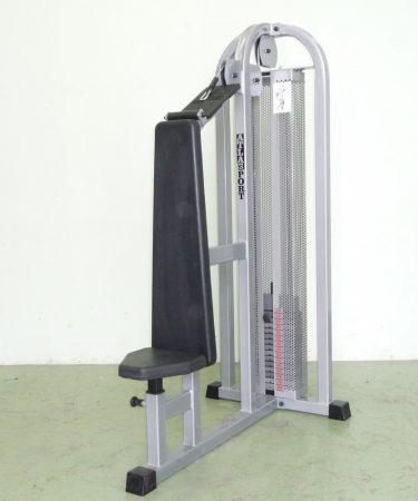Tricepszgép, ülő, fej feletti (123)