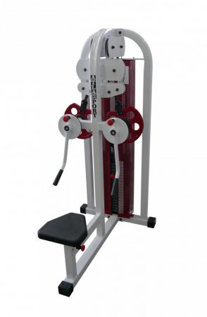 Crossover-shoulder machine combi