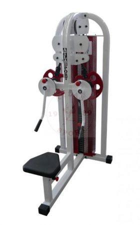 Crossover-shoulder machine combi