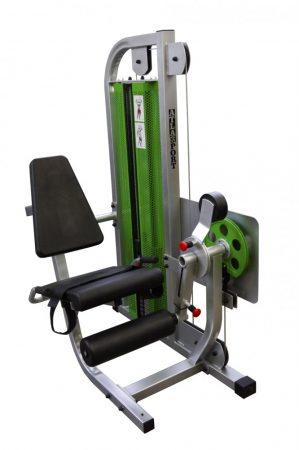 Sitting leg extension - sitting curl machine combi