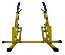 Power lifting guggoló állvány