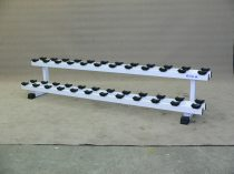 Dumbbell rack, row 2, place 24