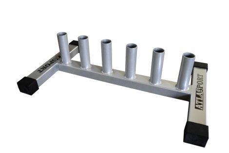 Bar rack for 6 training bars