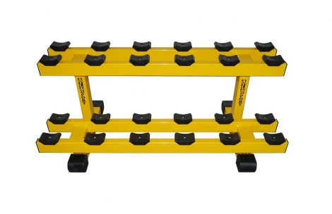 Dumbbell rack, row 2, place 12