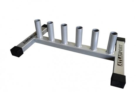 Bar rack for 4 training bars