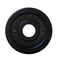 2,5 kg disc (D:51 mm)