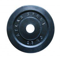 2,5 kg-os tárcsa (furat 31 mm)